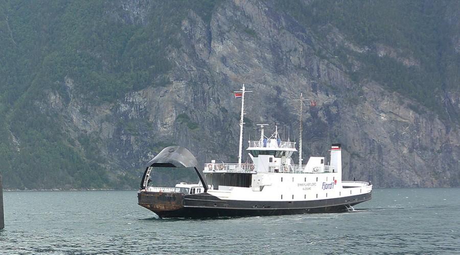 Fjord1 har vunnet konkurransen om fire ferjesamband på Nordmøre. Der skal de benytte fem plug-in elektriske ferjer. Illustrasjonsbilde/arkvibilde: Fjord1