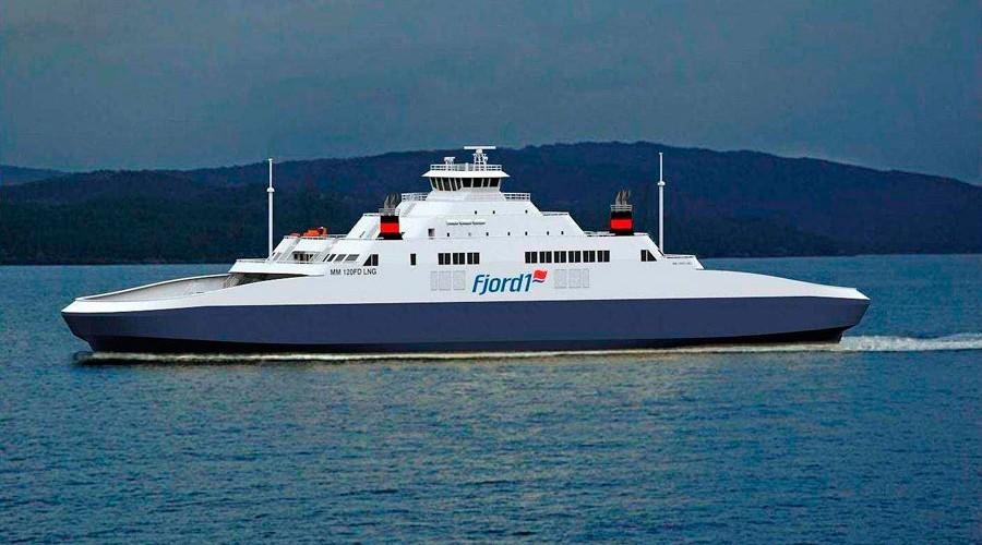 Ny gassferge til Fjord1