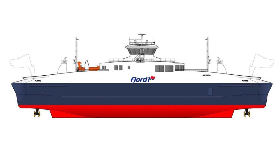Ny ferge til Fjord1