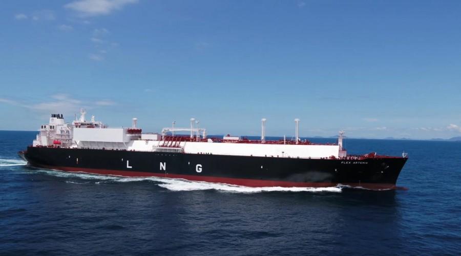Flex Artemis ble levert til Flex LNG i august. Foto: Flex LNG