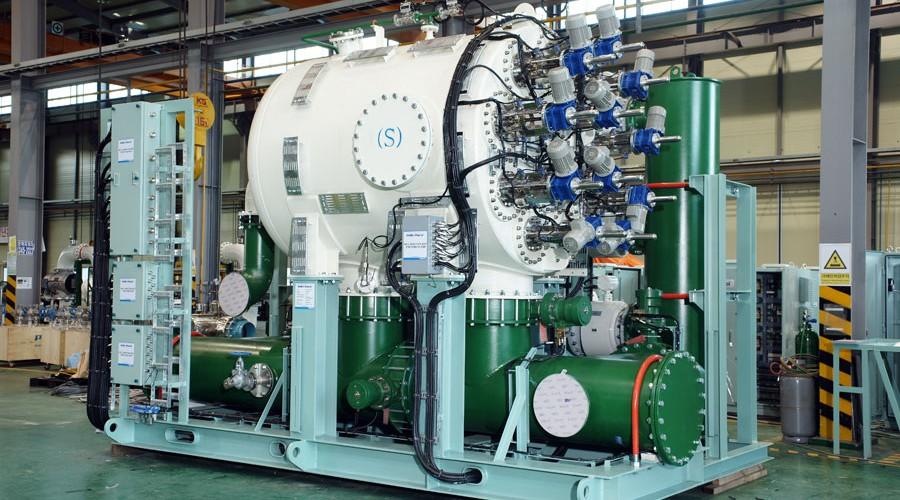 Filterenhet for ballastvann