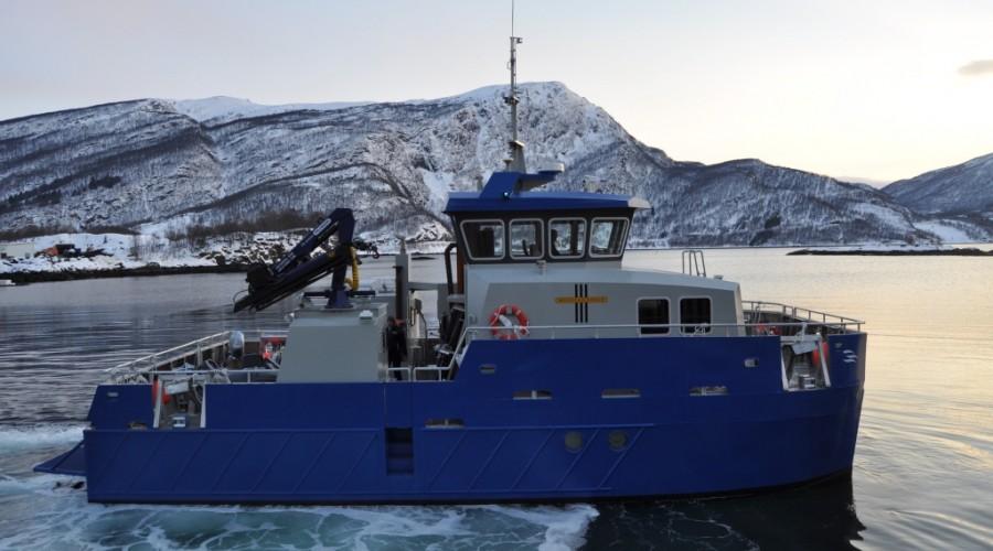 Byggenr. 154 blir tilnærmet lik byggenr. 90, Bore Cat, som ble levert til Multiconsult i 2013. Foto: Grovfjord Mek. Verksted