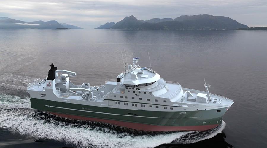 Wärtsilä skal levere fremdriftsanlegg til ny Granit, som bygger for Inge Halstensen i Tyrkia.