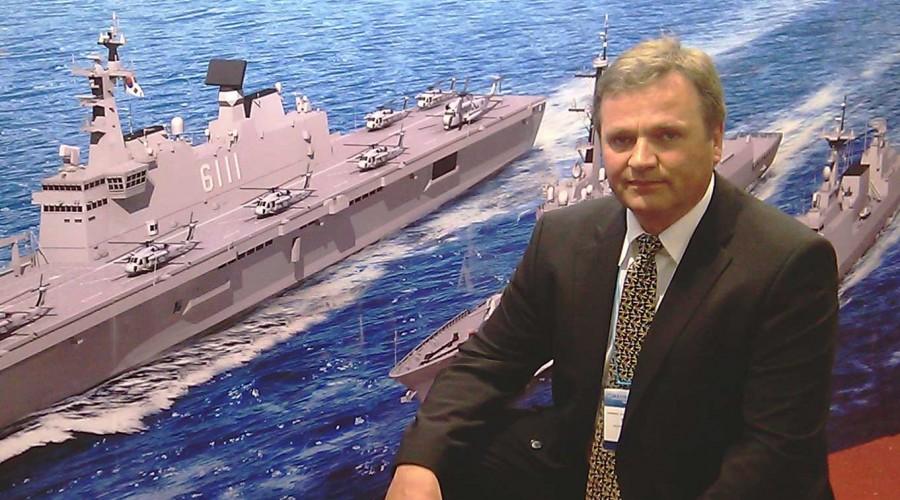 Stadt-direktør Hallvard Slettevoll bekreftar at selskapet har signert ei viktig kontrakt med eit NATO-land, angåande eit militært fartøy. Foto: Stadt AS