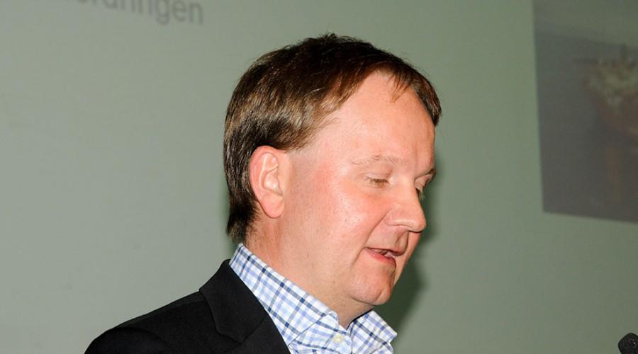 Adm. dir. Lars Peder Soltad har fått Aker med på laget i Solstad Offshore. Arkivfoto: Roald Evensen