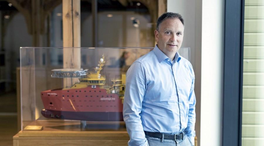 Håvard Framnes, Østensjø Group Investment Director as well as a board member in Hydrogenious LOHC Maritime AS. Photo: Østensjø.
