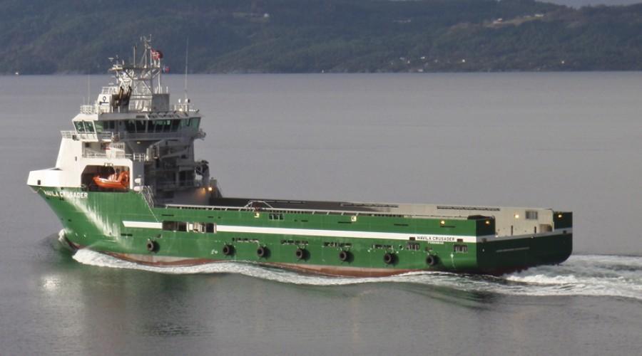 Havila Crusader ble levert fra fra Hellesøy Verft i 2010. Omtalen av skipet, kunne man lese i Maritimt Magasin nr. 1 2011. Foto: Havila
