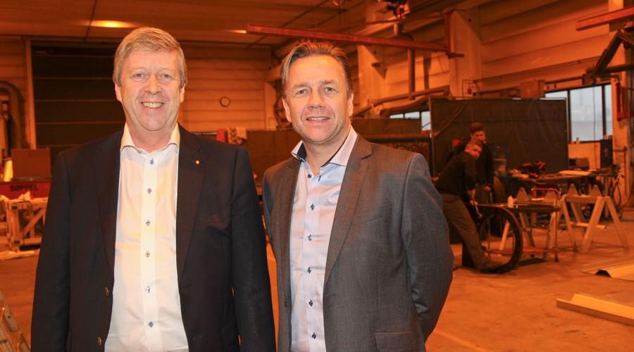 Leif Gjelseth og Geir Johan Bakke