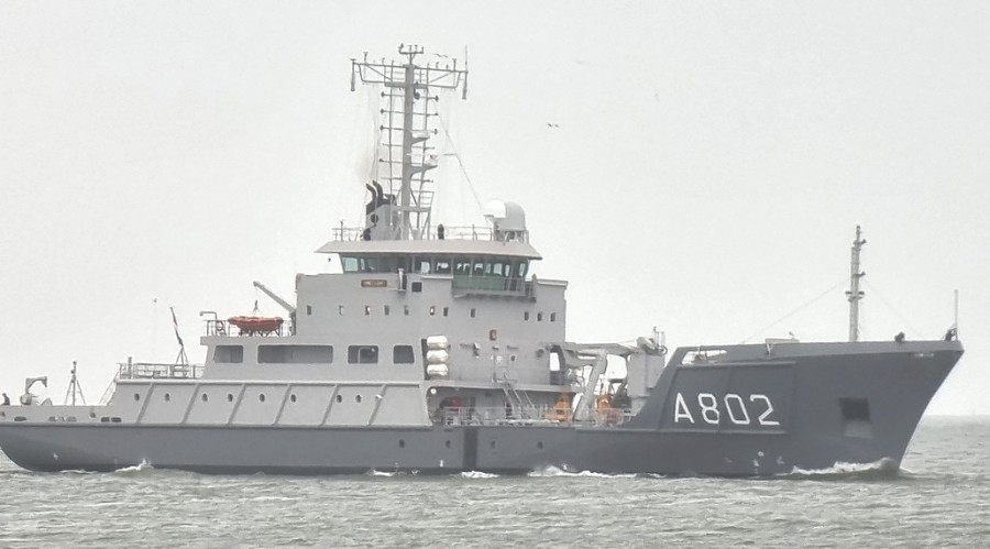 HNLMS Snellius returned tto the Royal Netherlands Navy (RNLN) following her midlife upgrade. Phioto: Royal Netherlands Navy