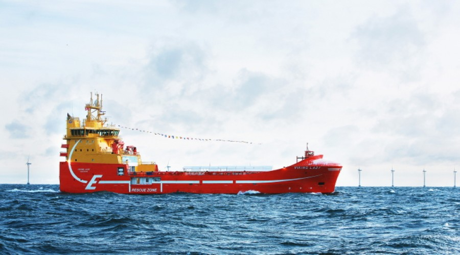 The hybrid vessel Viking Lady. Photo: DNV GL