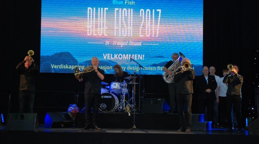 Blue Fish messen åpnet i Ålesund i dag.