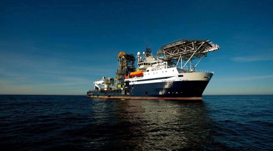 Island Frontier markerte starten for Island Offshore som rederi. Foto: Island Offshore