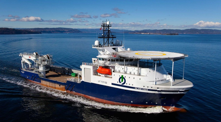 Island Pride går inn på langtidskontrakt for Ocean Infinity. Foto: Island Offshore