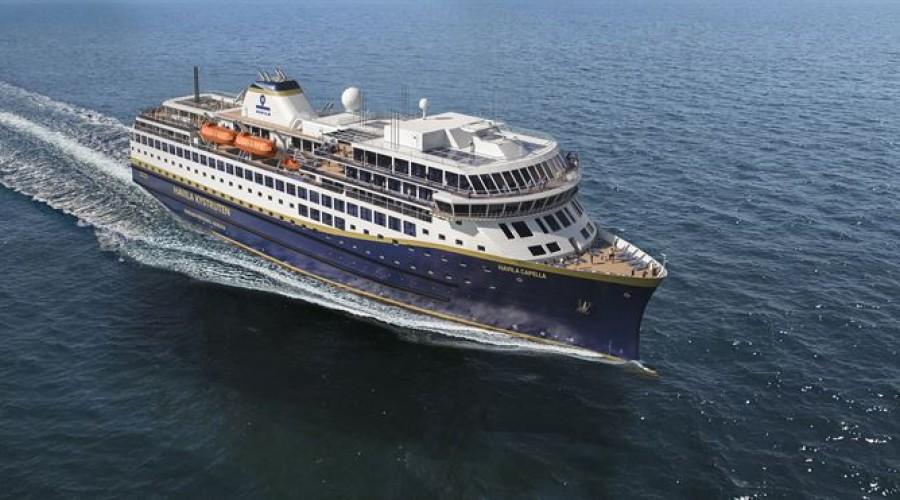 Havila Kystruten-skipene bygges ved verftene Barreras i Spania og Tersan i Tyrkia. Ill: Havila Kystruten
