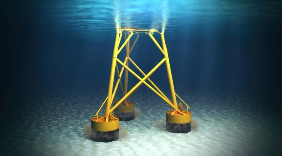 Framo suction anchor pumping system (SAPS) in action. Credit: Framo/Nagelld