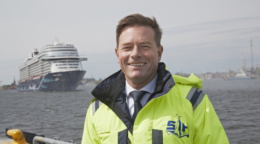 It is important in promoting Stockholm's standing as a port city, says City Planning Commissioner responsible for Ports of Stockholm, Joakim Larsson. Photo: Stockholm Hamnar/Per-Erik Adamsson