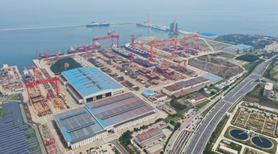 Ferjene skal bygges ved China Merchants Jinling Shipyard (Weihai) og skal leveres innen 2023. Foto: Verftet.