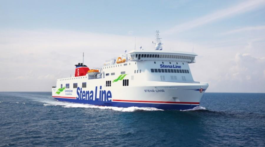 Stena Livia in Stena Line livery. 3D-animation: Mild Design/Stena Line