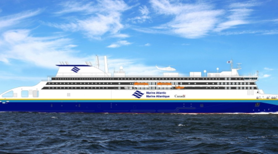 Delivery from the shipyard is expected during 2024.  Illustration Marine Atlantic