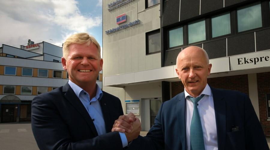 Roger Granheim blir konsernsjef i Torghatten, mens Brynjar Forbergskog som hadde denne jobben til nå blir arbeidende styreformann. Foto: Torghatten