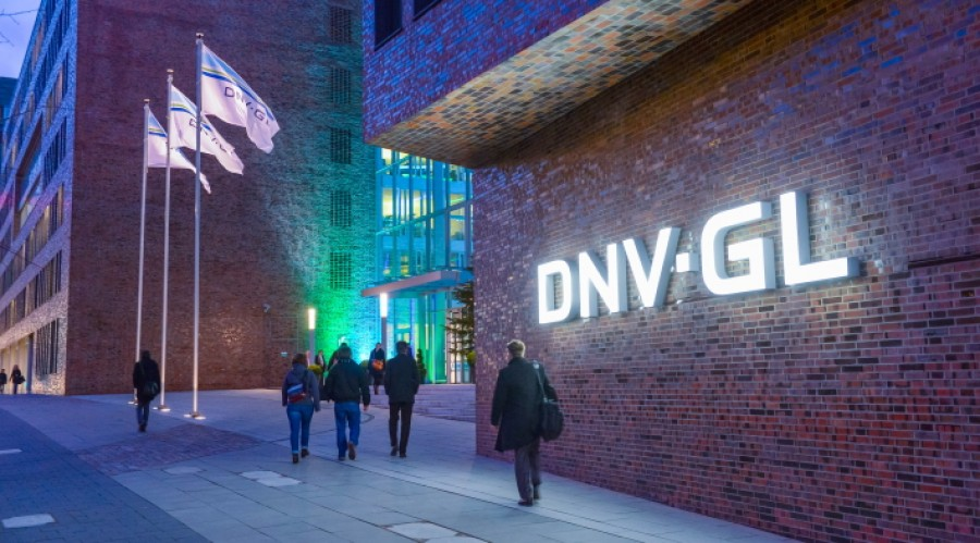 DNV GL has joined the Smart Maritime Network. This is DNV GL office, Hamburg, Germany. Photo: DNV GL