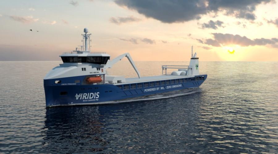 3D from front - Illustration: Kongsberg Maritime/Viridis Bulk Carriers