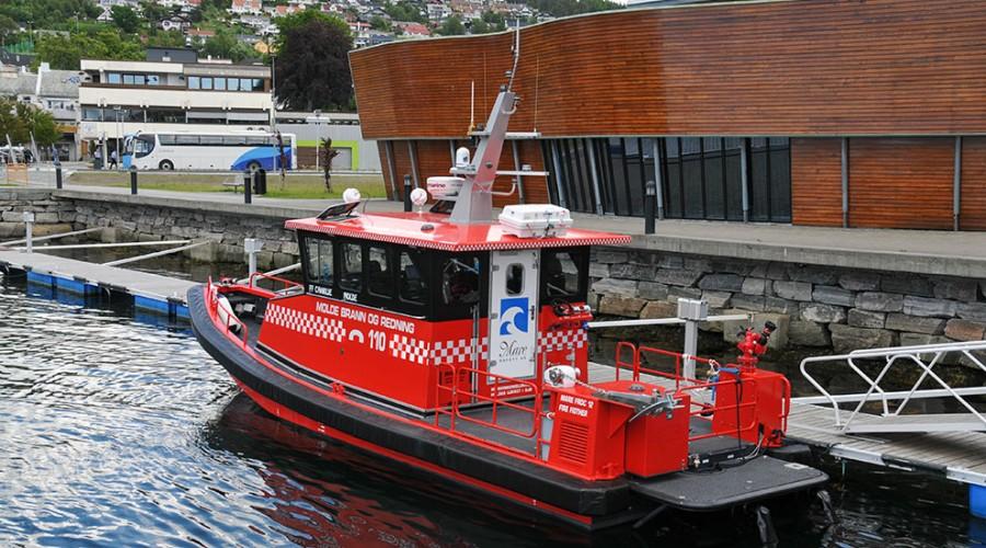 Ny brannbåt
