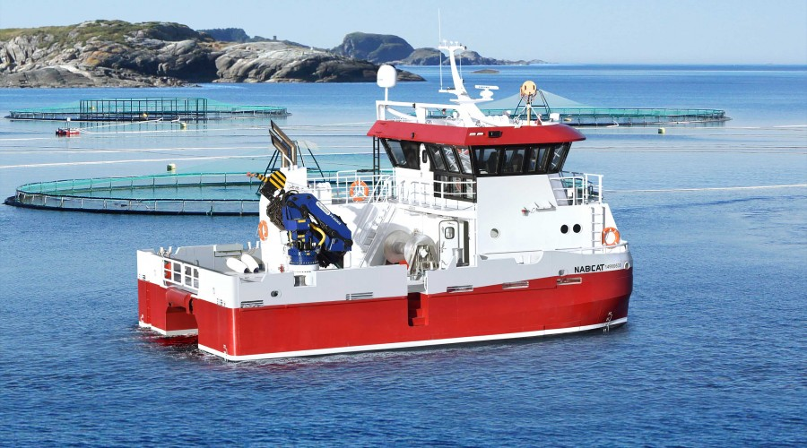 Skottlands største service- og brønnbåtoperatør har signert kontrakt med Moen Marin. Illustrasjon: Marin Design