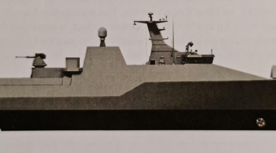 Stadt Stealth Lean Propulsion er alt i bruk i fartøy for andre utanlandske mariner. Illustrasjon: Stadt.