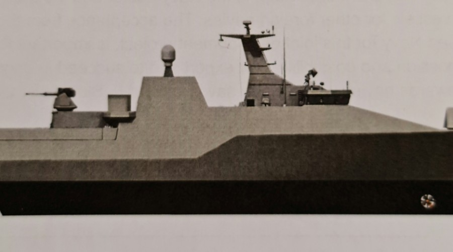 Stadt has developed a very innovative technology that has a potential to increase defence capabilities for the future Navy fleet. Illustration: Stadt.