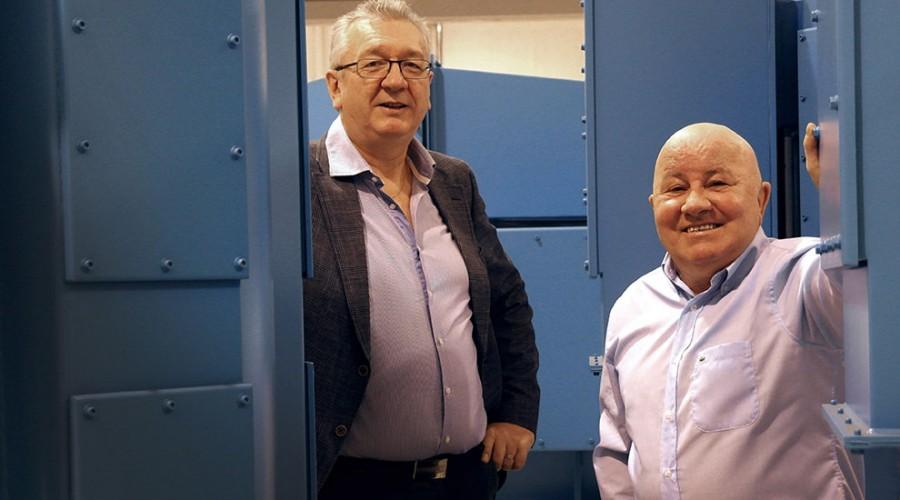 Tor Leif Mongstad og Jan Berg