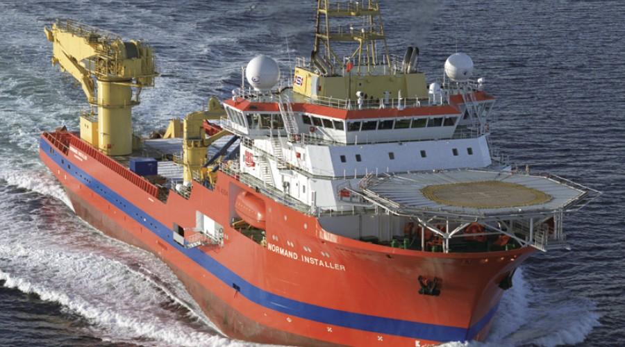 Normand Installer da skipet ble levert i 2006. Foto: Harald M. Valderhaug