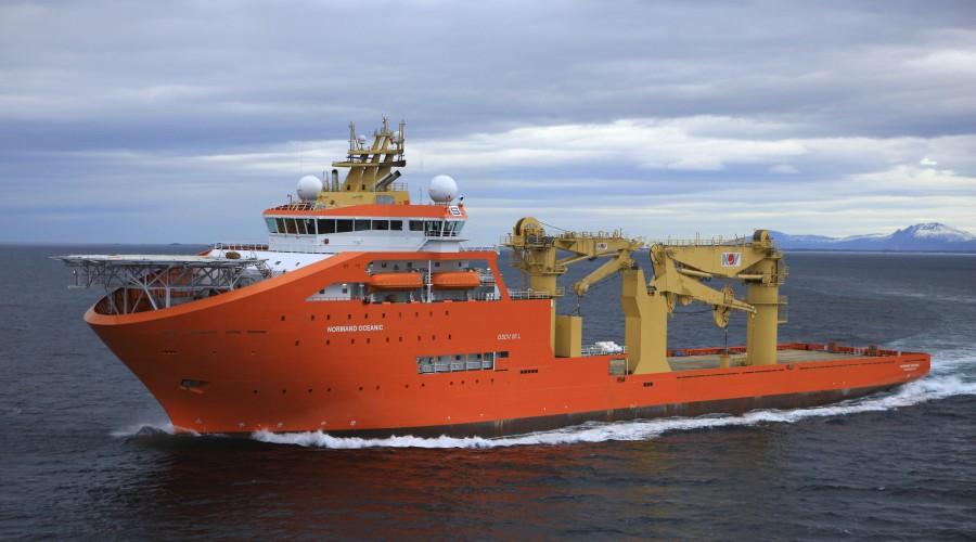 Normand Oceanic i 2011. Foto: Harald M. Valderhaug