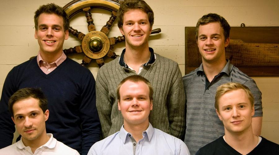 Gjengen i Mannhullets Skipsfartskonferanse