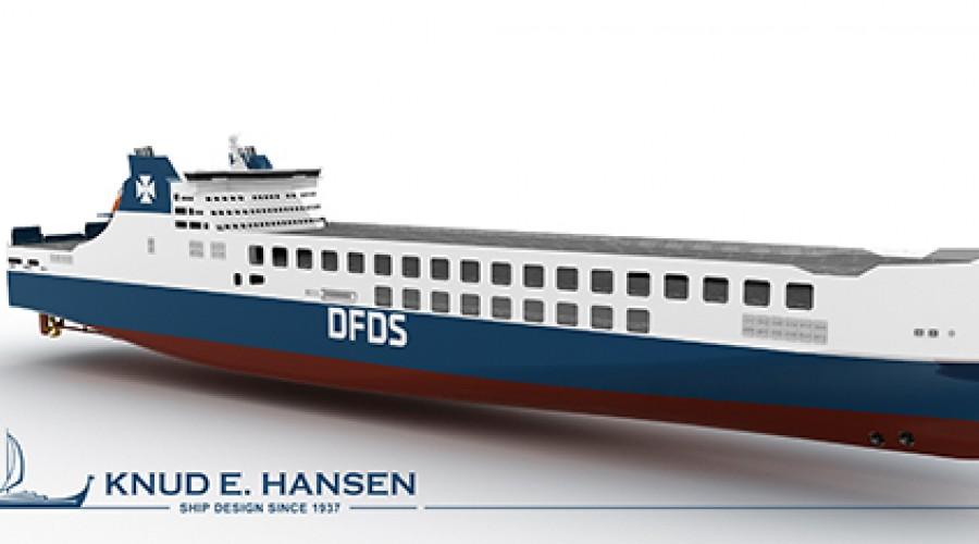 DFDS bestiller enda et nybygg fra kinesisn verft.