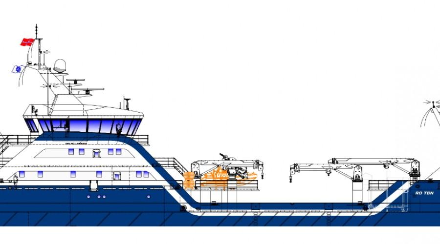 Nybygget er designet av Skipskompetanse AS i Måløy.