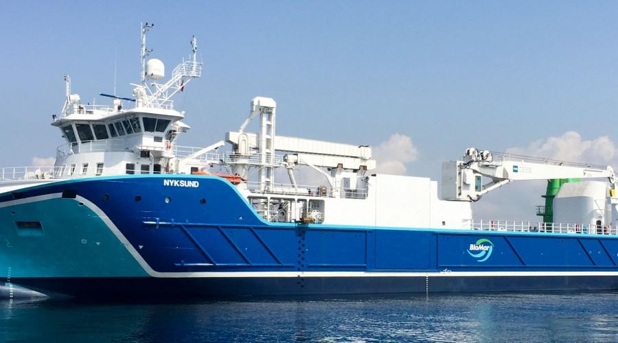 Nyksund seiler nå gjennom Middelhavet på vei til Karmøy. Foto: NSK Shipping
