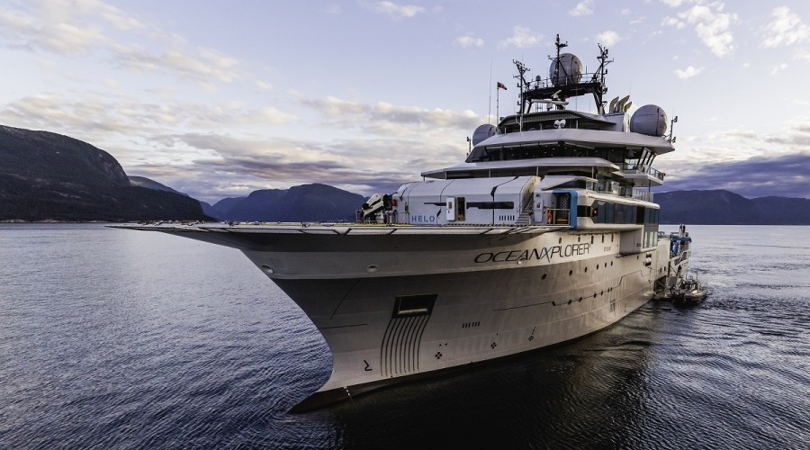 OceanXplorer in the fjords of Norway. Photo: @Taj Howe