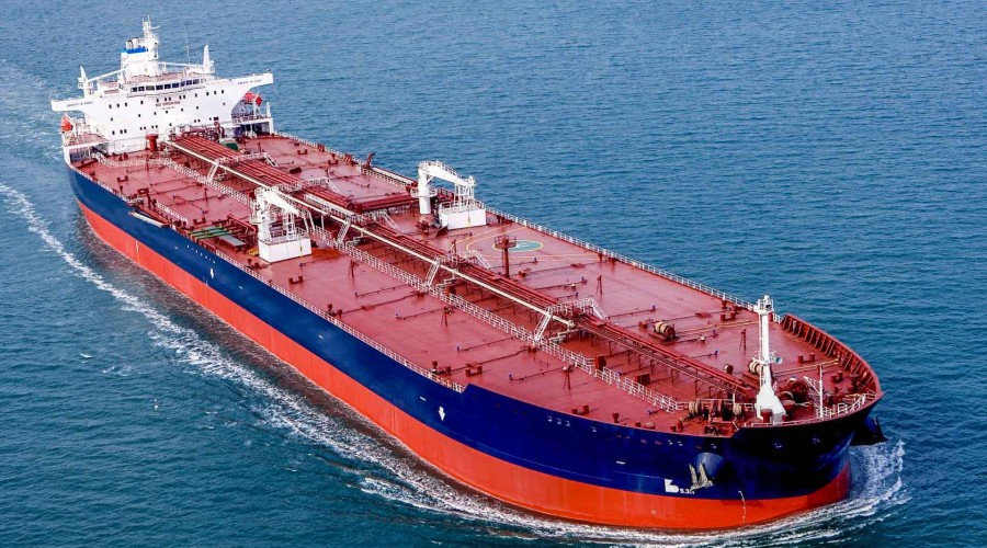 A tanker from Rui Neng Ocean Shipping Co. Photo: Headway/Rui Neng