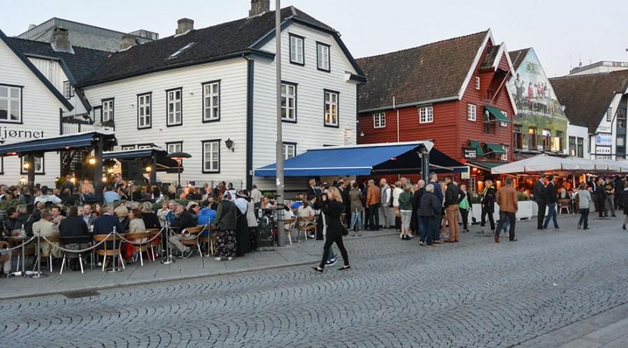 Avlysning av ONS Norway i august vil også merkes i bybildet i Stavanger. Foto: John Inge Vikan