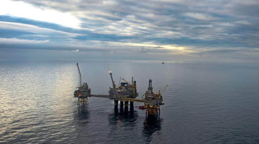 Oseberg-feltet i Nordsjøen skal bygges ut videre. Foto: Harald Pettersen - Statoil ASA