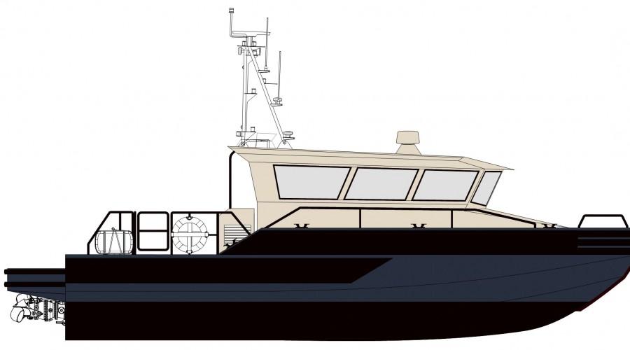 Weldmec AB og MarTec AS leverer båt til det norske Forsvaret. Bilde: Weldmec/MarTec