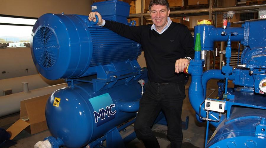 Salgssjef Petter Kåre Grytten i Havyard MMC er strålende fornøyd med å ha solgt RSW-anlegg nummer 200. Foto: Havyard