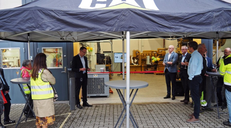 Pon Power AS has opened its new test center. Photos: Pon Power.