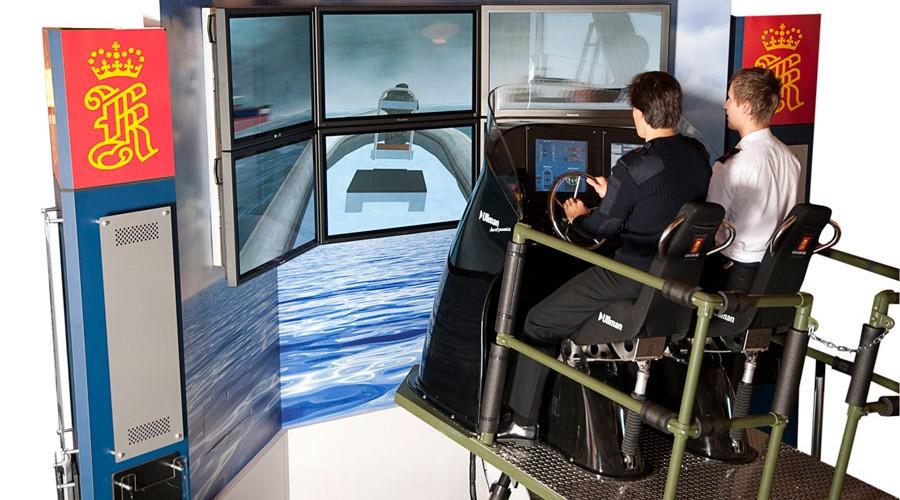 RHIB simulator