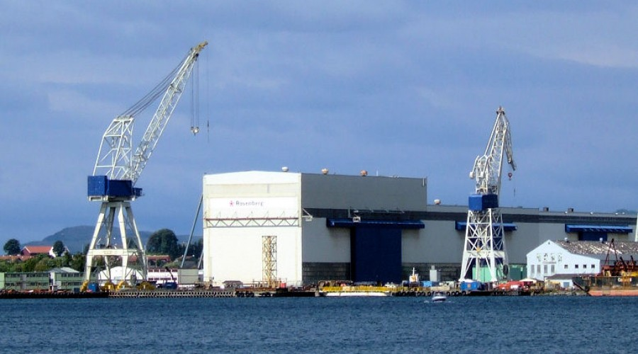 Kronikkforfatteren mener at den norske skipsbyggingsindustrien er så svekket at det er grunn til å spørre om den maritime klyngen egentlig eksisterer.   Illustrasjonsfoto:  wikipedia commons