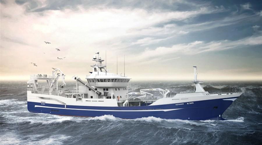 Den nye tråleren er designet av norske Salt Ship Design.