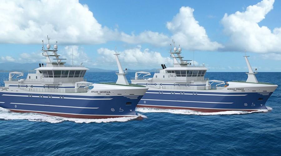 Ervik Havfiske sine nybygg har design MT1112 frå Marin Teknikk.