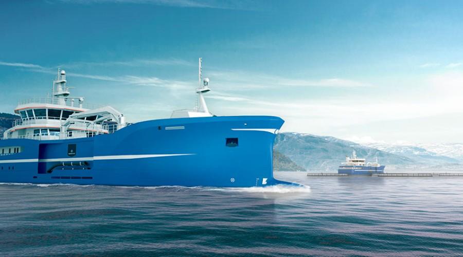 Scana Propulsion skal levere fremdriftsutstyr til DESS Aquaculture Shipping sin nye FHV, som skal bygges ved Kleven Verft. Ill: Kleven Verft