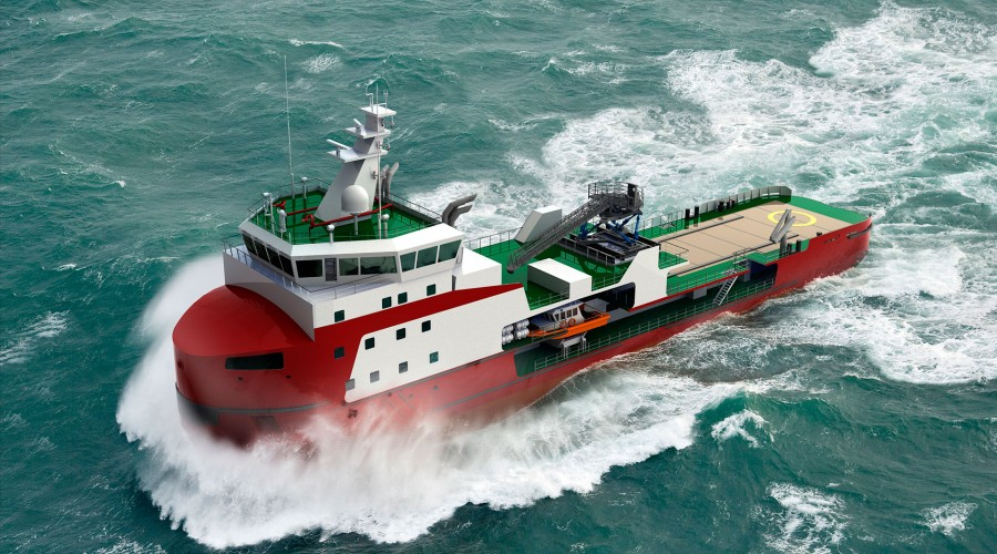 The Dutch shipyard Royal Niestern Sander is currently building a walk-to-work vessel commissioned by a joint venture between the Russian companies Mercury Sakhalin and Pola.